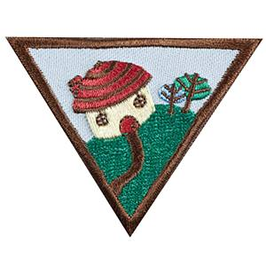 Household Elf Badge Brownie Girl Scouts