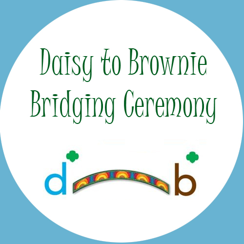 Bridging Ceremony Daisies to Brownies