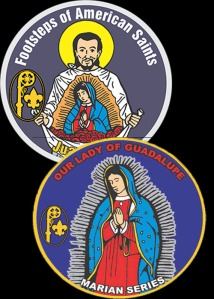 Scout patch programs for Saint Juan Diego and Our Lady of Guadalupe