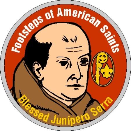 Junipero-Serra-saint-scouting-patch