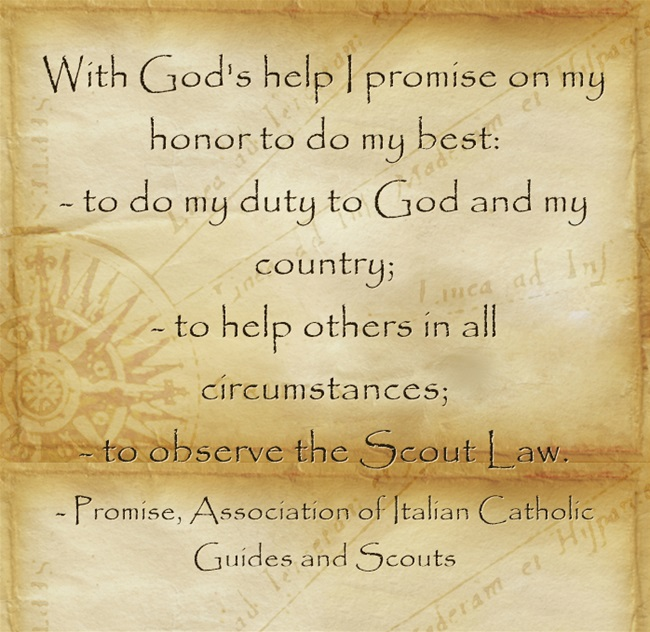 Guide Promise, Associate of Italian Catholic Guides and Scouts