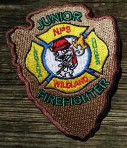 Indiana Dunes National Park- Junior Ranger Wildland Firefighter Patch