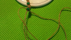 Tutorial for knotted hemp bracelet for Junior Jewelry Badge