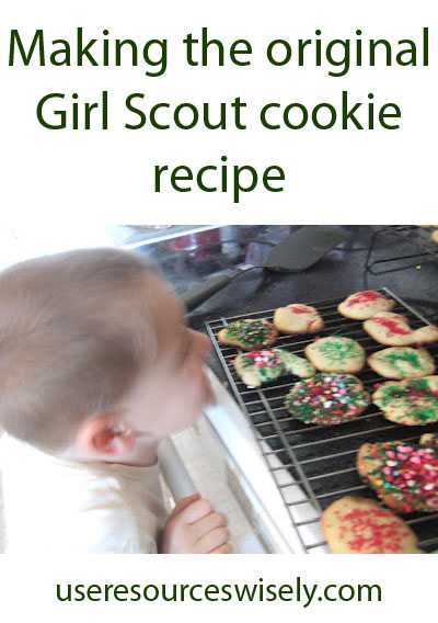 Making the original Girl Scout cookie recipe. How did it turn out 90 years after the original?