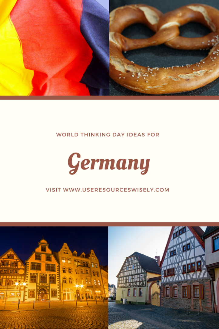 World Thinking Day ideas for Germany for #GirlGuides and #GirlScouts