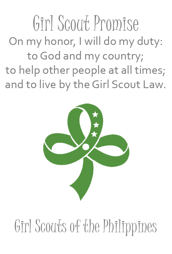 Girl Scout of the Philippines | Girl Scout Promise