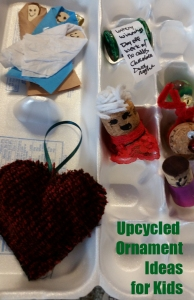 Easy kids ornament ideas you can make with recycled items