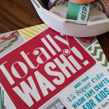 Preteen book review: Totally Washi: 45 Super Cute Washi Tape Crafts for Kids by Ashley Ann Laz