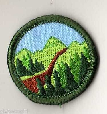 Retired Junior Girl Scout hiking badge