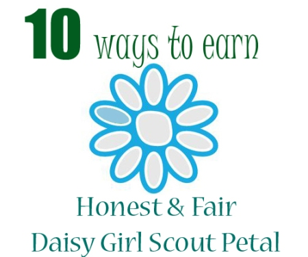 honest and fair daisy petal ideas