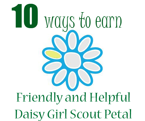 How to earn yellow friendly and helpful daisy girl scout petal