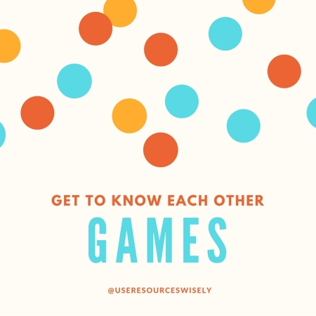 Get aquainted games for youth groups, scout meetings and day camps.