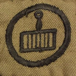 Girl Scout Cook badge, 1918-1927