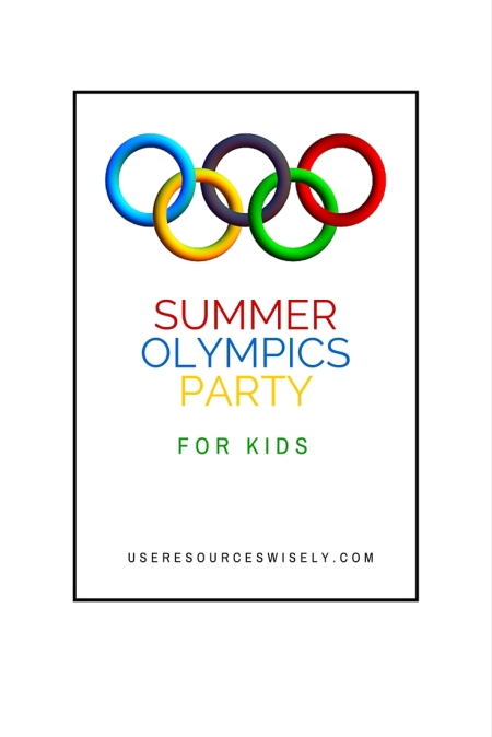 Summer Olympics Party Ideas for Kids   Games, Food and Fun