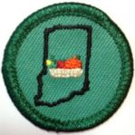 Hoosier Cooking Badge from Girl Scouts of Central Indiana, a retired council's own