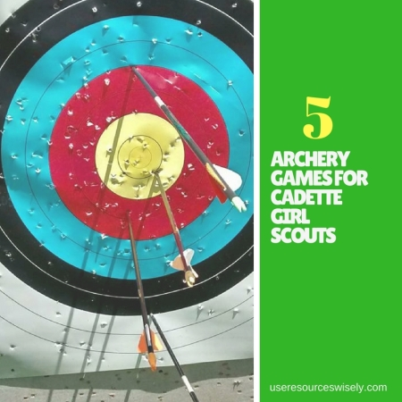 5 archery games for Cadette girl Scouts