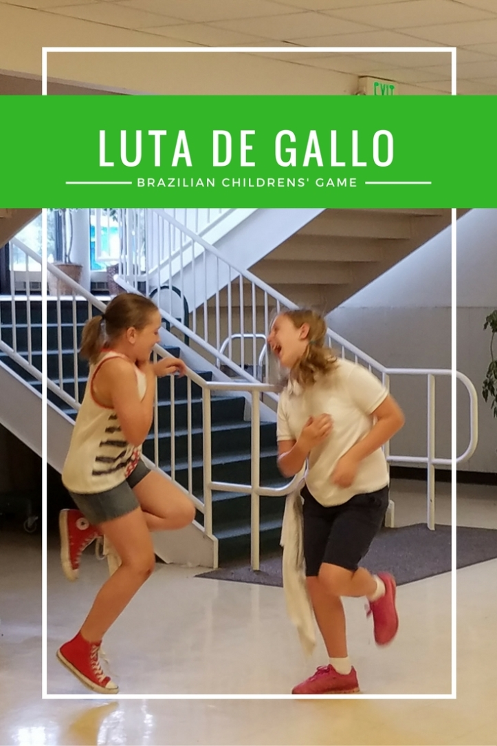 Luta de galo is a fun, quick children's game from Brazil that's great for outside or indoors.