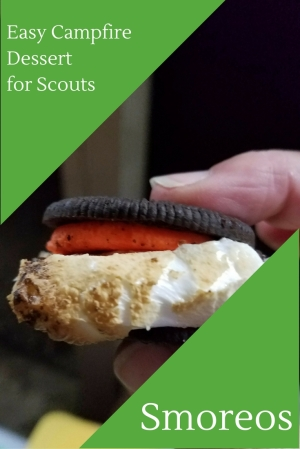 Smoreos: Easy campfire dessert recipe for scouts