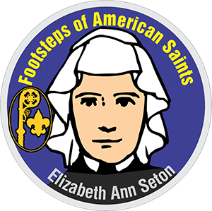St. Elizabeth Ann Seton: Scout patch program: Footsteps of American Saints