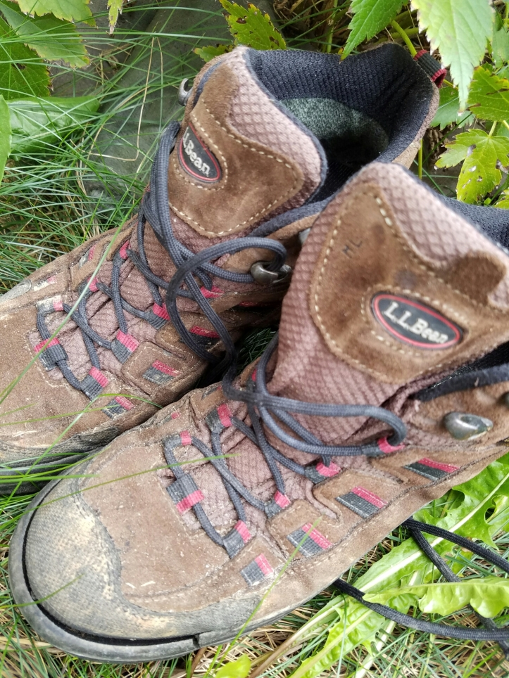 Farewell old friends: Saying goodbye to my boots