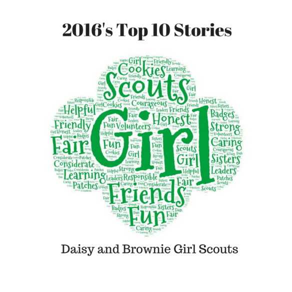 Top 10 Posts For 2016 Daisies And Brownies Use Resources Wisely Clearly there is something weird going on, as she's surprised that nobody else grew up with a monster. brownies use resources wisely