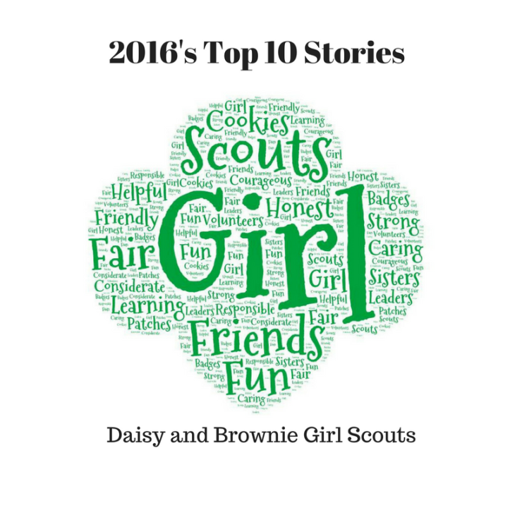 Top stories for Girl Scout leaders: Daisy and Brownie Girl Scout troops (2016)