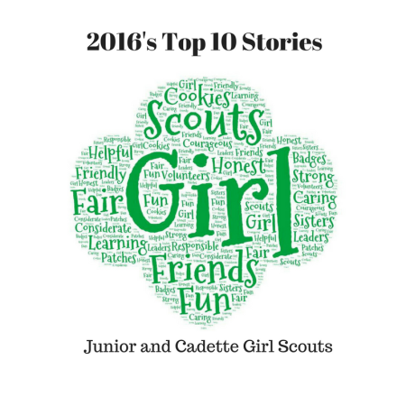 Top stories for Girl Scout leaders: Junior and Cadette Girl Scout troops (2016)