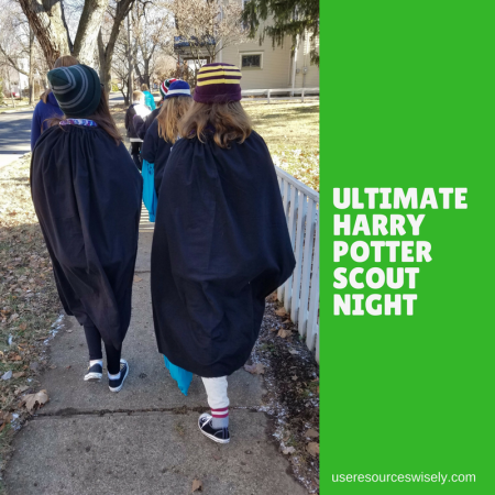 Ultimate Harry Potter Night for Girl Scouts