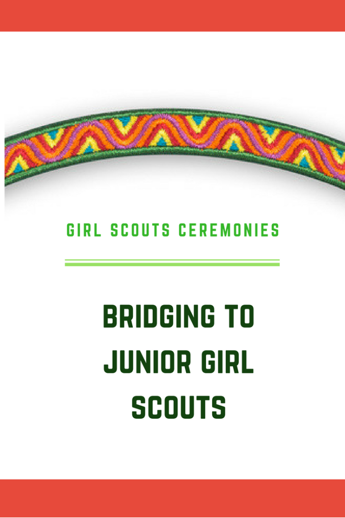 bridging to junior girl scouts