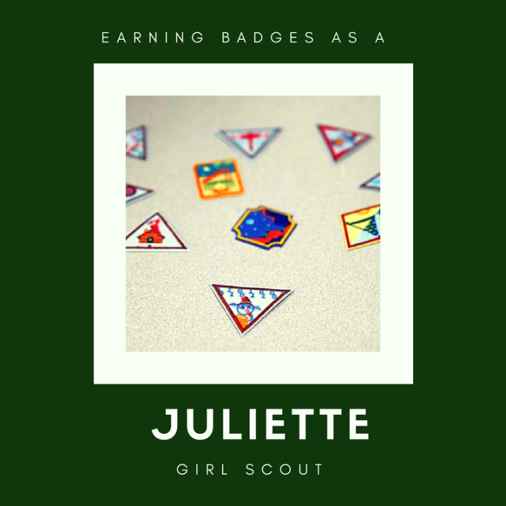 Earning badges as a Juliette #GirlScout. IRGs, IRM or simply motivated Girl Scouts can still earn badges on their own. Here's how.