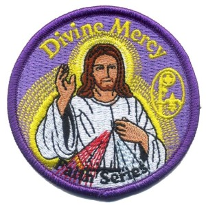 #DivineMercy patch program for #Catholic #BoyScouts and #GirlScouts.