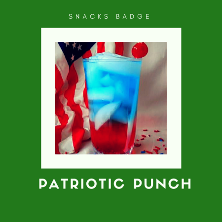Patriotic Punch Recipe for Brownie Snacks badge