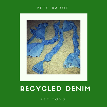 Brownie Pets badge: Recycled denim pet toys craft