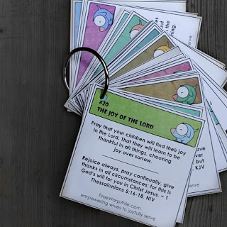 prayer cards for family of god retreat for brownies