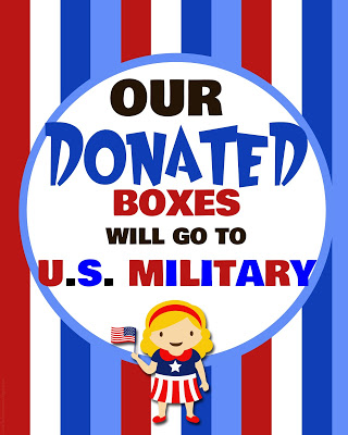 Buy a box of Girl Scout cookies for our troops overseas