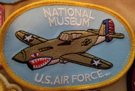 National Museum of US Air Force patch - Dayton, Ohio