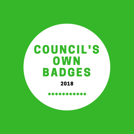 Updated Girl Scout council's own badges and patch programs - March 2018