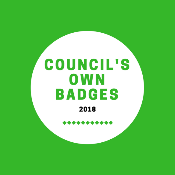 Girl Scout Council's Own Badges & Patch Programs 2018 | Use