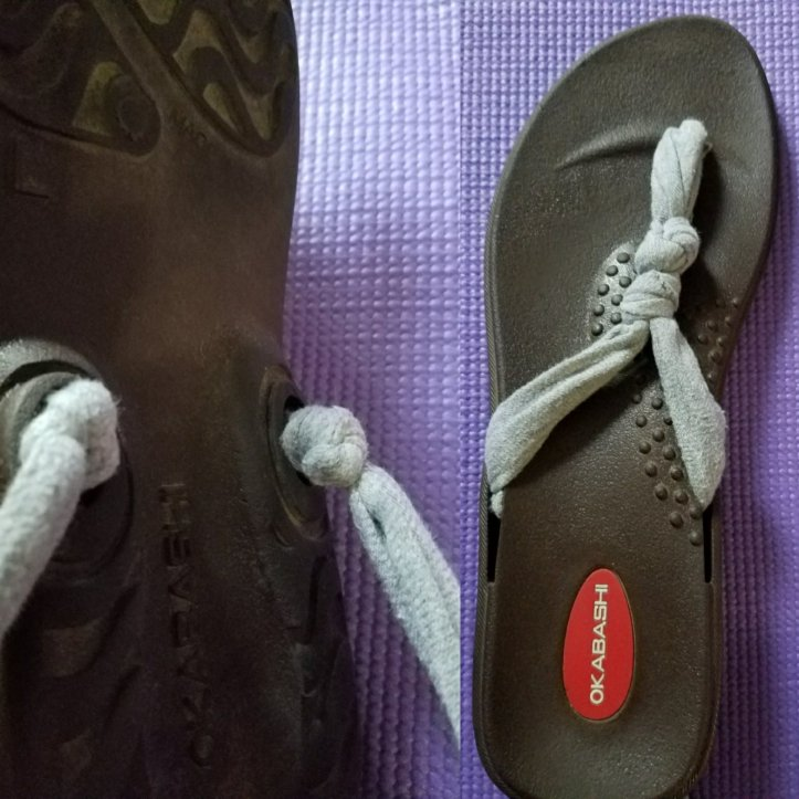 e82458b64a331 Easy summer project for your teens and tweens. Makeover your old flip flops  with this