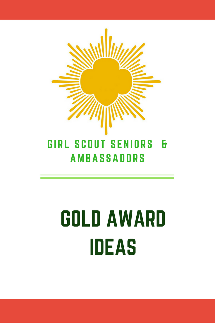 girl scout gold award ideas – cancer and other health awareness