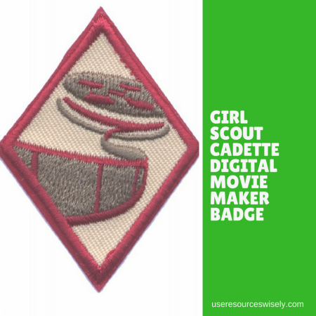 Check out this free way to earn your Cadette Girl Scout Digital Movie Maker badge