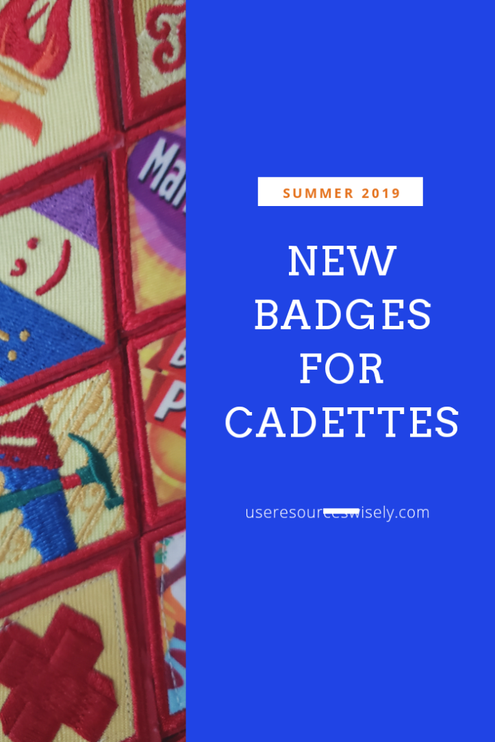 new badges for older girl scouts coming 2019