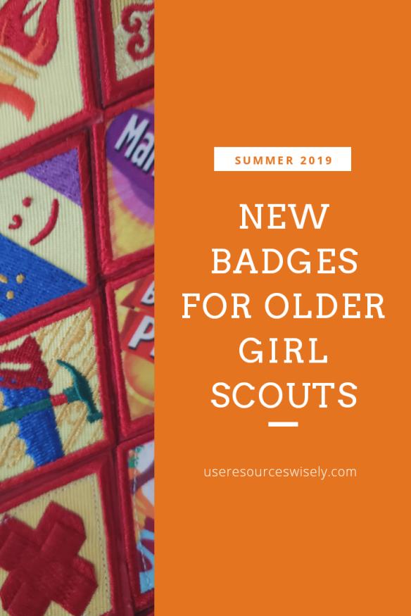 New Cadette, Senior and Ambassador Badges Coming Summer 2019