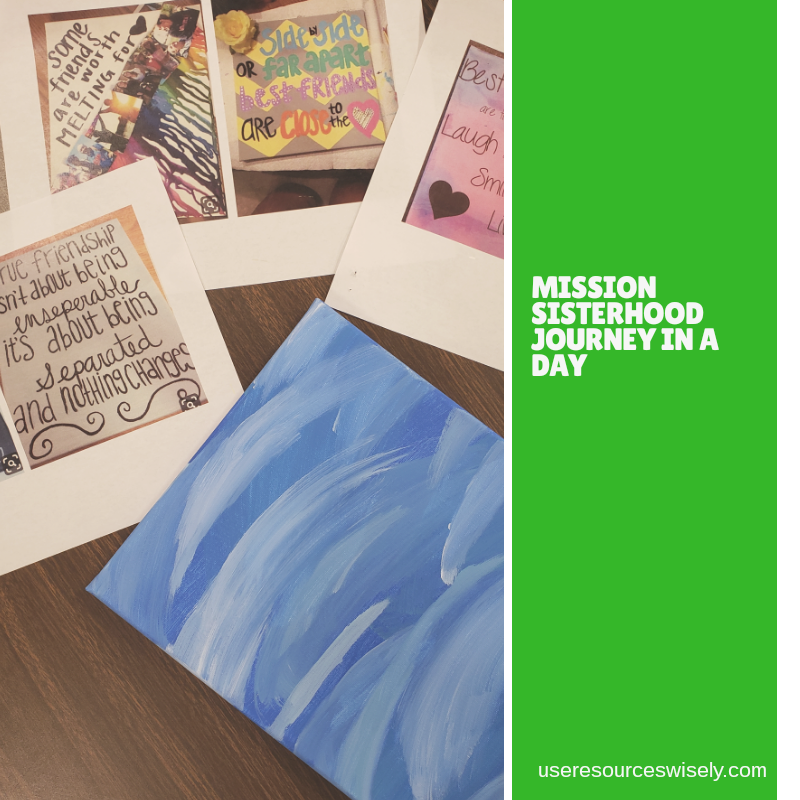 Girl Scout Mission Sisterhood Journey Award